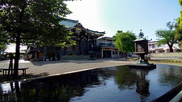 宗仲寺の庭園