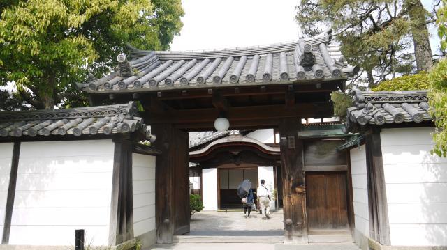 京都府最勝院の山門