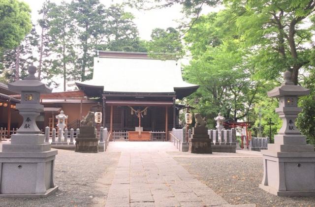 星川杉山神社の本殿