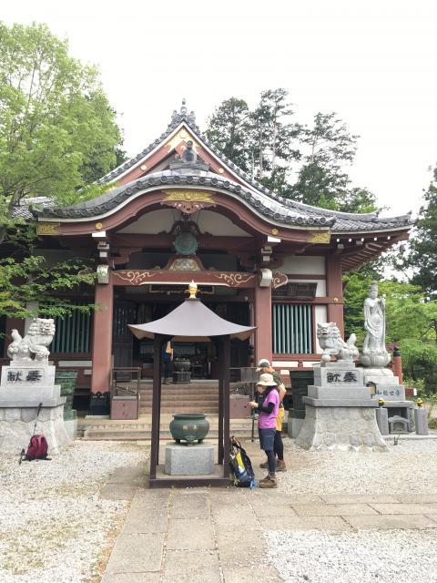 埼玉県天龍寺の本殿