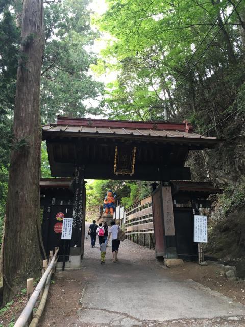 埼玉県天龍寺の山門
