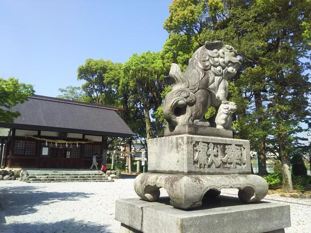 御裳神社の狛犬