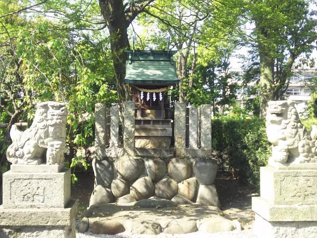 愛知県御裳神社の本殿