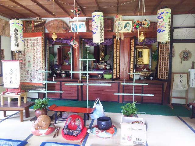 岐阜県寺尾観音堂の本殿