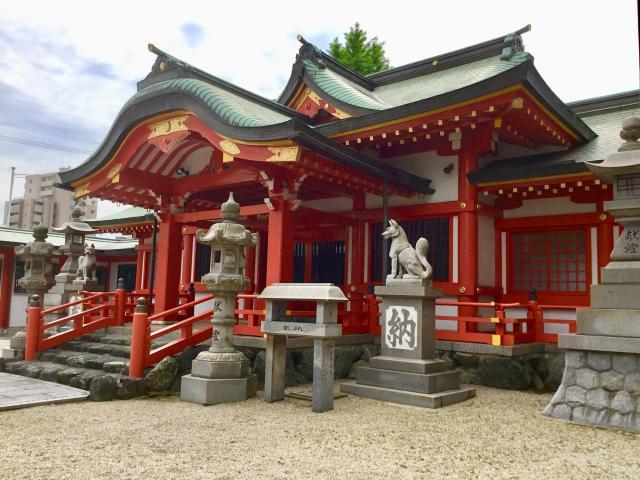 愛知県稲荷神社の本殿