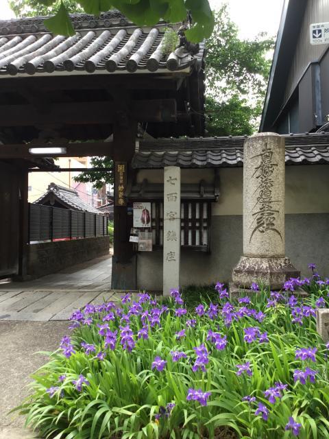 愛知県妙善寺の山門