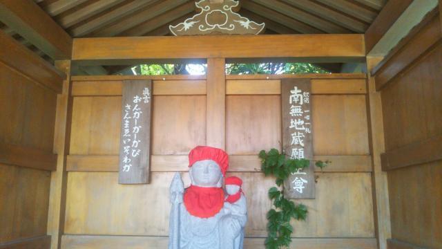 萬藏寺の地蔵