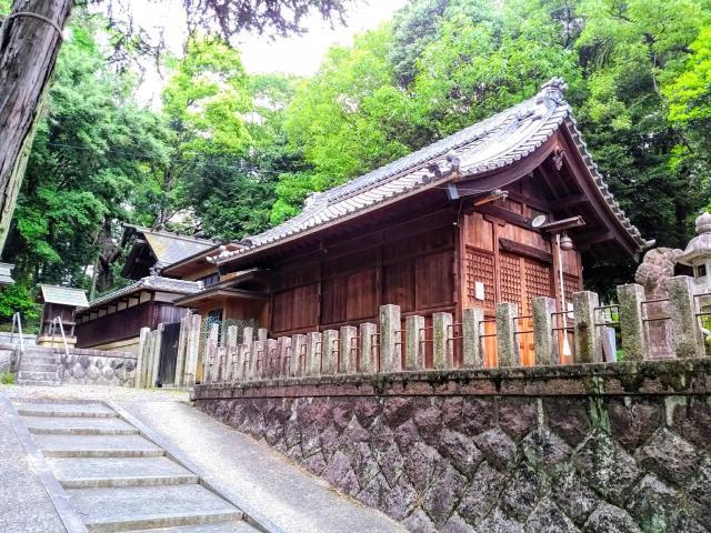 愛知県七社之社の本殿