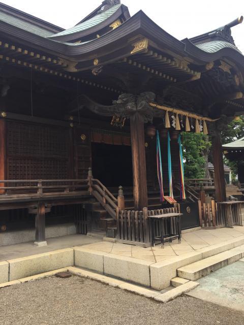 東京都赤羽八幡神社の本殿