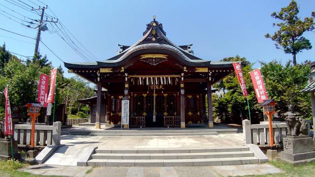 神奈川県久里浜天神社の本殿