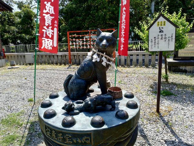 久里浜天神社の狛犬