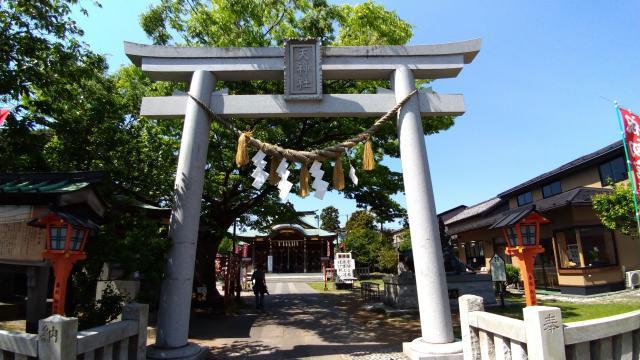 神奈川県久里浜天神社の鳥居