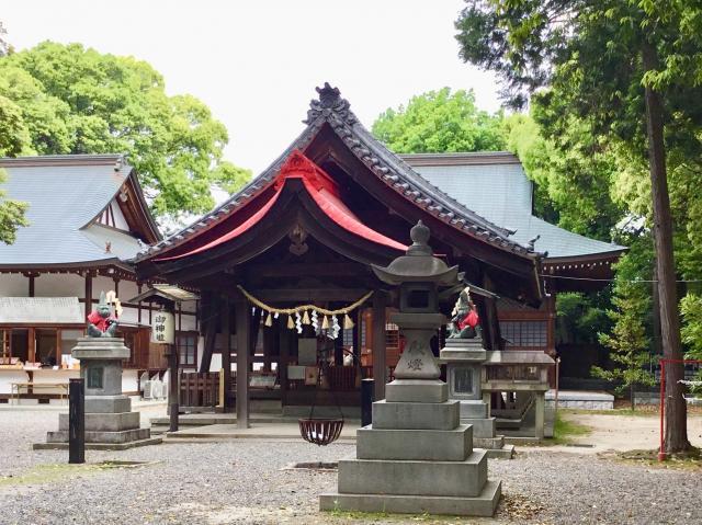 愛知県清州山王宮 日吉神社の本殿