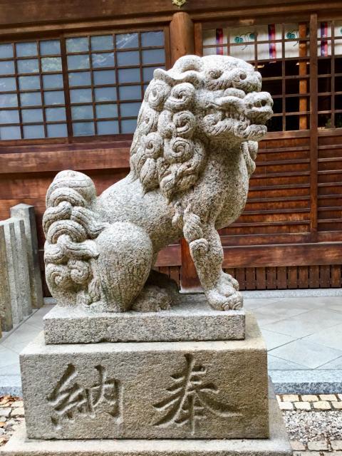 清州山王宮 日吉神社の狛犬