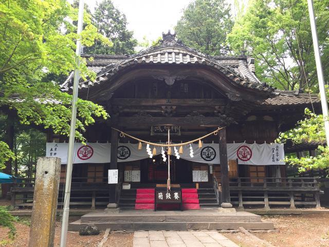 大星神社の本殿