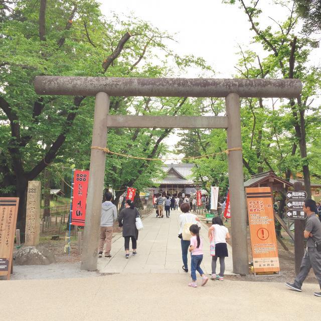 眞田神社の鳥居