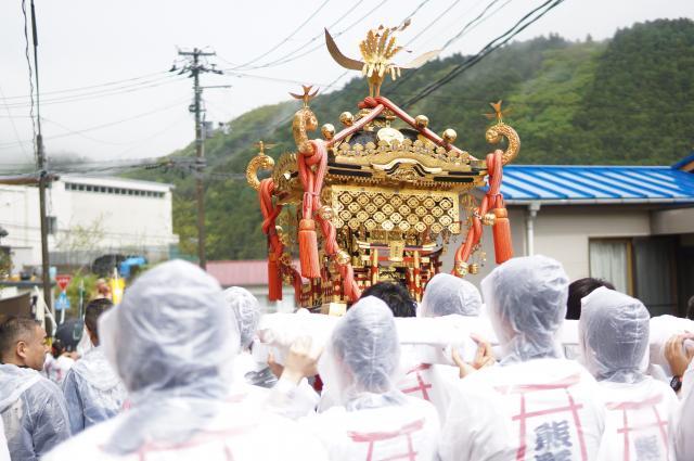 熊野神社のお祭り