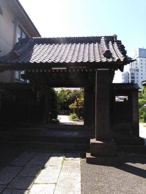 東京都海雲寺の山門