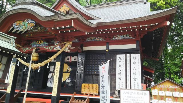 栃木県八幡宮の本殿