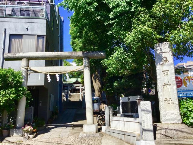 東京都多田神社の鳥居