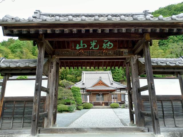 萬福寺の山門