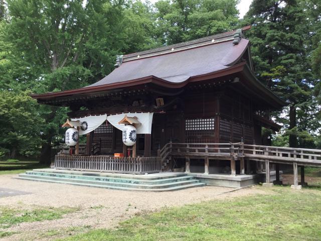 青森縣護国神社の本殿