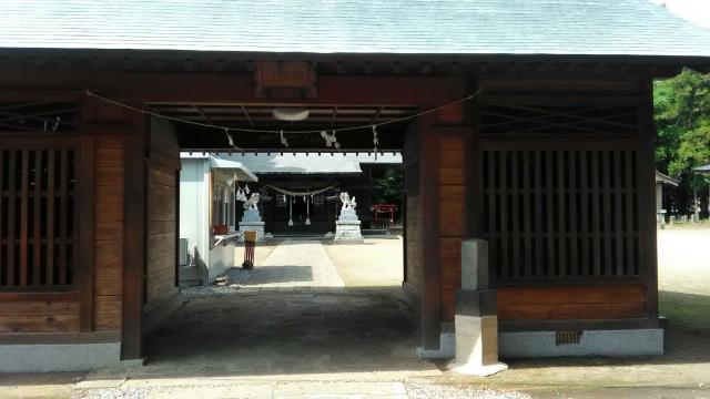 群馬県二宮赤城神社の本殿
