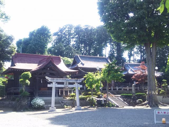 埼玉県瀧宮神社の本殿