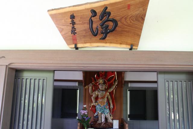 隆国寺の本殿