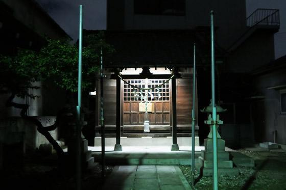 東京都西新井天満宮の本殿