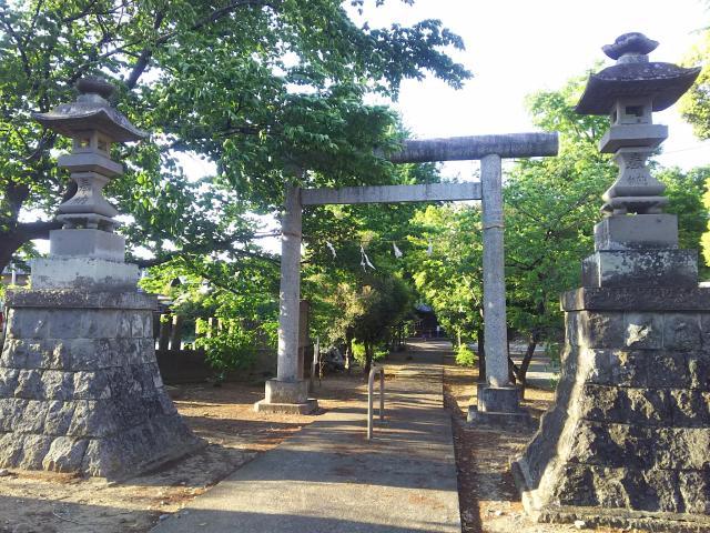 埼玉県島護産泰神社の鳥居