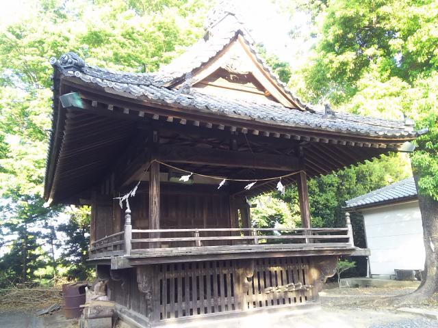埼玉県島護産泰神社の本殿
