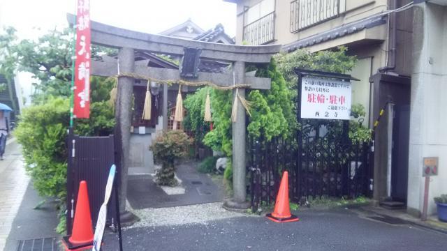 京都府西念寺の鳥居