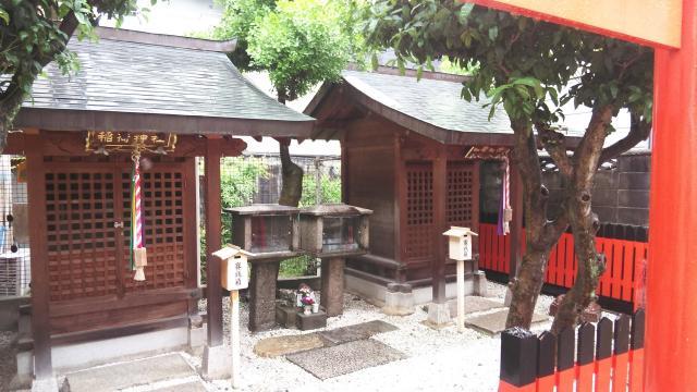 越後神社の本殿