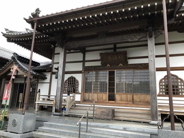 愛知県欣浄寺の本殿