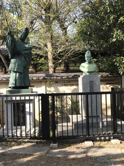 香取神社の像