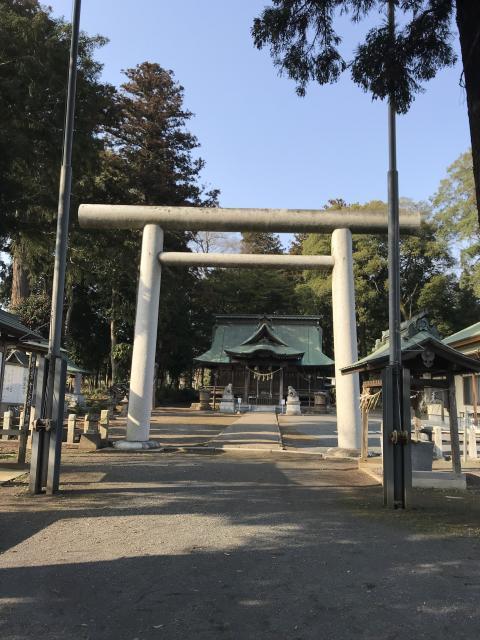 茨城県鹿島八幡神社の本殿