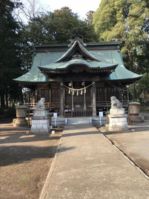鹿島八幡神社の本殿