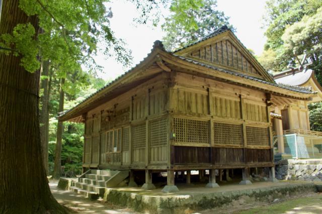 福岡県雷神社の本殿