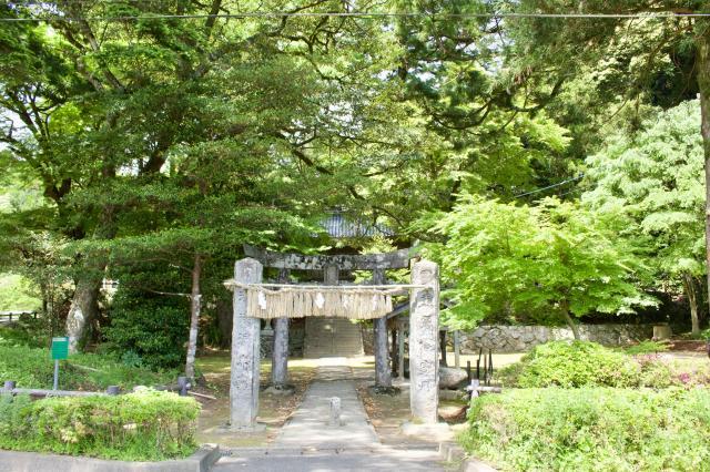 福岡県雷神社の建物その他