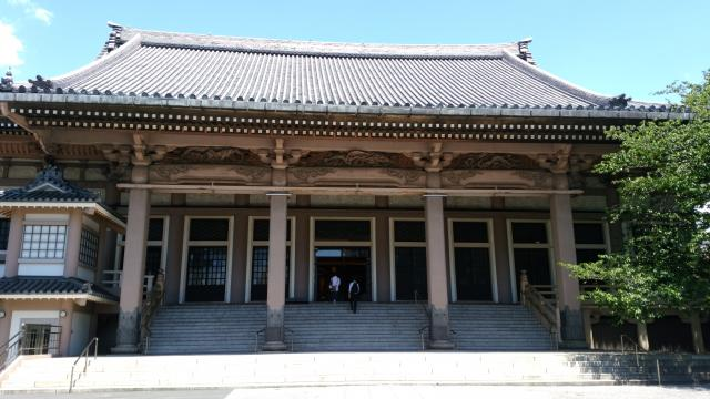 東京都東本願寺の本殿