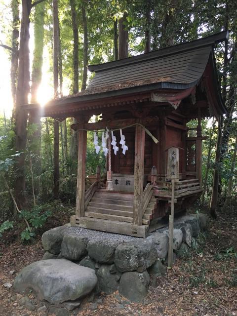 東京都阿伎留神社の本殿