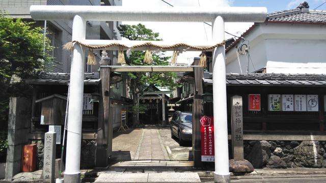 高松神明神社の鳥居