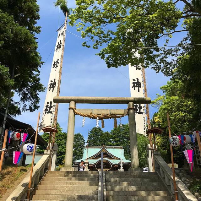 神峰神社の鳥居