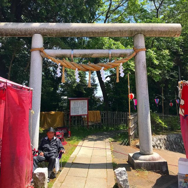 茨城県神峰神社の本殿