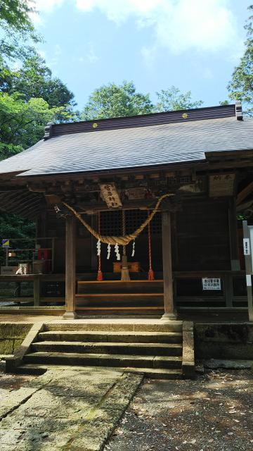 栃木県生子神社の本殿