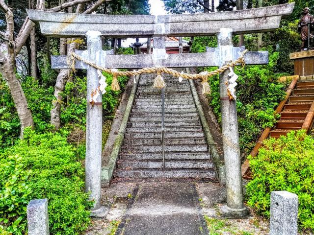 愛知県御嶽神社(山方御嶽神社)の鳥居