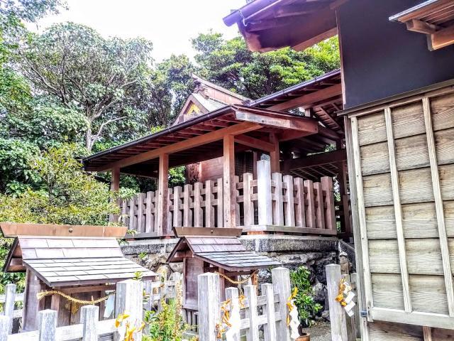 愛知県御嶽神社(山方御嶽神社)の本殿