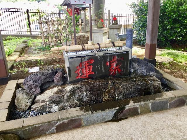 太田神社の手水