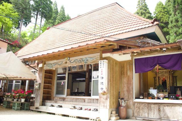 佐賀県浄徳寺の本殿